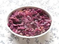 <イギリス料理・レシピ> 紫キャベツの蒸し煮【Braised Red Cabbage】 - イギリスの食、イギリスの料理&菓子