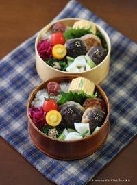 椎茸つくね丼 ✿ 初サンマ(〃)´艸`)オイシー♪ - **  mana's Kitchen **