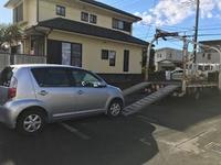 港南区から車検切れ故障車をレッカー車で廃車の出張引き取りしました。 - 廃車戦隊引き取りレンジャー