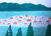 新しい道 - たなかきょおこ-旅する絵描きの絵日記/Kyoko Tanaka Illustrated Diary