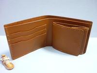 二つ折り財布(+ ボックス型小銭入れ)・プレゼントに! - 革小物 paddy の作品