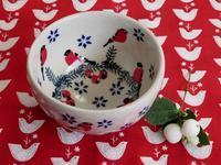 ポーランド陶器の赤い鳥柄シュガー・ボウル -  Der Liebling ~蚤の市フリークの雑貨手帖2冊目~