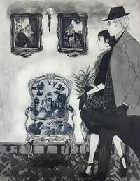 『柳ホテル恋愛編』12月3日〜8日青山ギャラリーハウスMAYA - +P里美の『Bronze & Willow』Etching note
