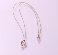 オープンハートのネックレスK10イエローゴールドCP / CP-01 K10YG - アクセサリー職人 モリタカツヤ MOHICAN XXXXX  Jewelry Factory KUROBE