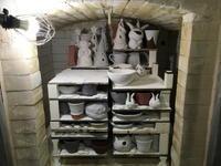 窯詰め - 週末陶芸家 フジサキウサジ