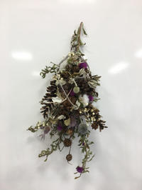 NHKカルチャー町田 クリスマスガーランド - driedflower arrangement ✦︎ botanical accessory ✦︎ yukonanai ✦︎ gland*