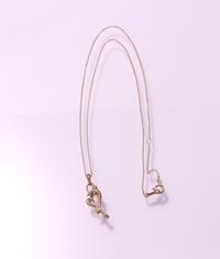 滴るハートのネックレスK10イエローゴールドCP / CP-03 K10YG - アクセサリー職人 モリタカツヤ MOHICAN XXXXX  Jewelry Factory KUROBE