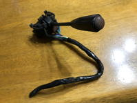 Mini Mk3用の純正ウインカレバー取り付け - 無題