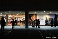 夜の上野公園:国立西洋美術館 - Photocards with love