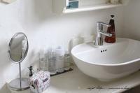 【無印良品週間】洗面スペースに無印の化粧水を常備して冬の乾燥お肌対策に♪ - neige+ 手作りのある暮らし