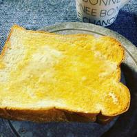 朝ごはんに天然酵母食パン - Rue's  home