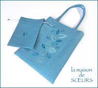 小さなバッグとお揃え巾着 - la maison de SŒURS