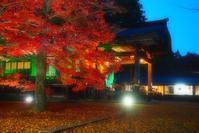 木山寺のライトアップ - つれづれ日記