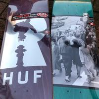HUF×REAL COLLABORATION DECK - Growth skateboard elements