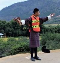 インド~ブータンの今㊶・交通整理 - 夢・ファンダンゴ
