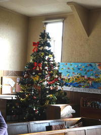 2018年11月25日クリスマス準備 - 日本ナザレン教団 尾山台教会