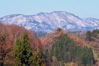 初雪の黒姫山 - 松之山の四季2