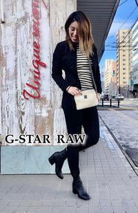 2019SS「G-STAR RAW ジースター ロウ」新作入荷です。 - UNIQUE SECOND BLOG