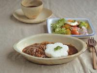 ハヤシライスの朝ごはん - 陶器通販・益子焼 雑貨手作り陶器のサイトショップ 木のねのブログ