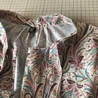 リバティエレガンス柄でブラウスを作っています - Flora 大人服とナチュラル雑貨