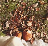 秋の一日秋のリネン重ね重ね - MIFUMI*  Petite Couture Rie