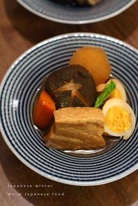 冬の食卓毎度の角煮と小鉢たち - KICHI,KITCHEN 2