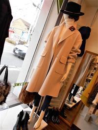 ピンクのコート・・・・・☆ - 今日のdureine
