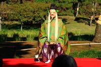 里神楽(棒しばり)小石川後楽園 - お散歩写真     O-edo line