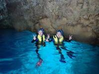 11月26日青の洞窟も貸し切り状態です - 沖縄・恩納村のダイビング・青の洞窟体験ダイビング・スノーケルご紹介