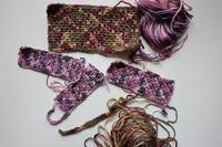 試編みtried it - 糸始末な日々         Thread&Yarn Handing Days