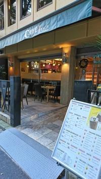 ドトールのようなホリーズのような CAFE LUCA@大阪・北浜 - カステラさん