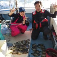 【大鱗】親子カワハギフィッシング♪ - まんぼう&大鱗 釣果ブログ