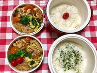 豚バラ肉と野菜の炒め物★(^^♪・・・・・子供弁当 - 日だまりカフェ
