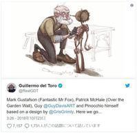 ギレルモ・デル・トロ監督『ピノキオ』の制作決定!ストップモーションアニメ・ミュージカルに - ギレルモ・デル・トロの部屋
