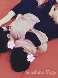 キッズヨガ☆相手をおもいやる気持ち - Sunshine Places☆葛飾  ヨーガ、産後マレー式ボディトリートメントやミュージック・ケアなどの日々