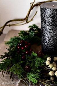 クリスマスに模様替え - A partir d'une seule piece  カルトナージュで私だけの空間創り
