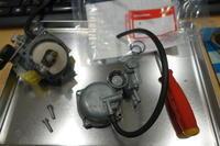 CT50 キャブ交換。 - 0024 Motor 商会