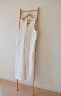 白のサロペット完売しました♫ - 親子お揃いコーデ服omusubi-five(オムスビファイブ)