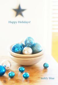 Christmas Tradition  クリスマス トラディッション - teddy blue
