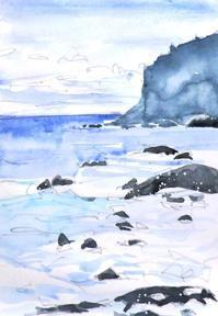 越前海岸ヒュルリ~ - ryuuの手習い