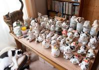 そごう横浜店でママさんの作品を販売中 - 猫と夕焼け