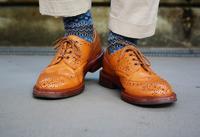 ブーツにすれば。。。 トリッカーズ バートン Acorn antique - 今日も晴れて幸せ!