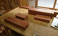 花梨テーブル、座卓製作その1 - KAKI CABINETMAKER