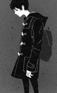 ☆お仕事☆小説推理2019年1月号挿画 - *クリタミノリのイラストの仕事と日々のメモ*