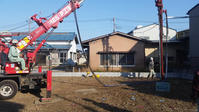 川越の家地盤改良工事 - 成長する家 子育て物語