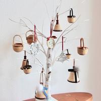 クリスマスへ模様替え - handvaerker ~365 days of Nantucket Basket~