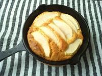 スキレットでリンゴのケーキ - Minha Praia