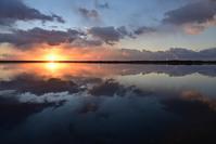 美しい夜明け~昨日のウトナイ湖 - やぁやぁ。
