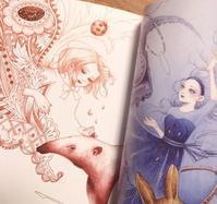 「 Girls2018 」にイラストが掲載されています。 - LoopDays     Sachiko's Illustration blog