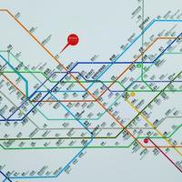 ソウルの地下鉄と進行方向。 - ななるいるぎ